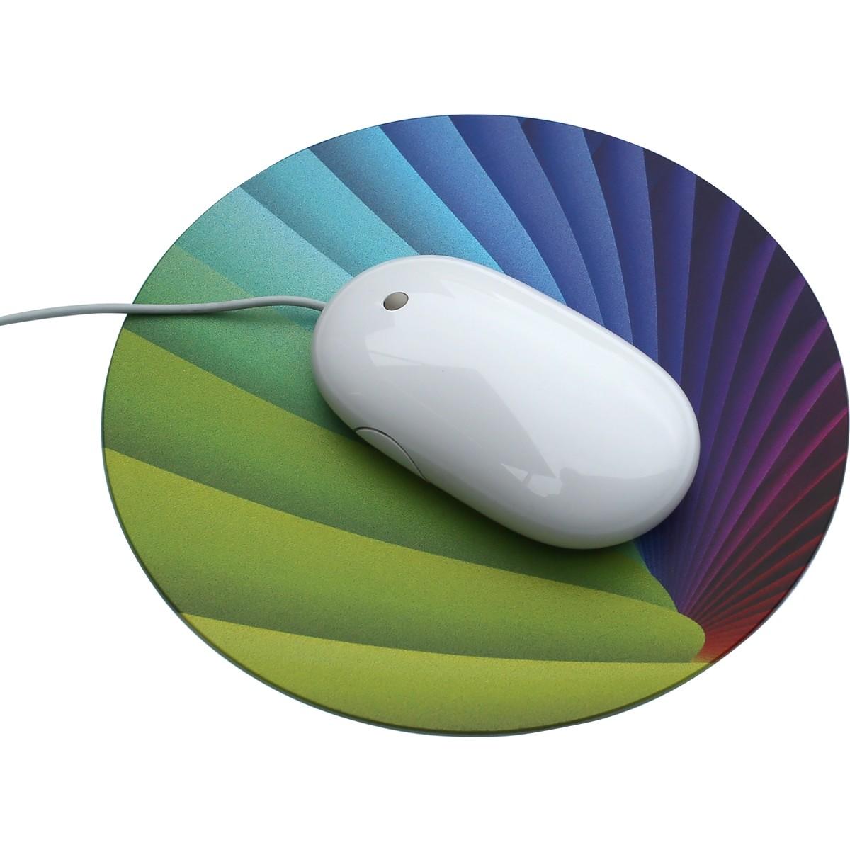 Tapis de souris QUADRO Forme ronde 20 cm de diamètre