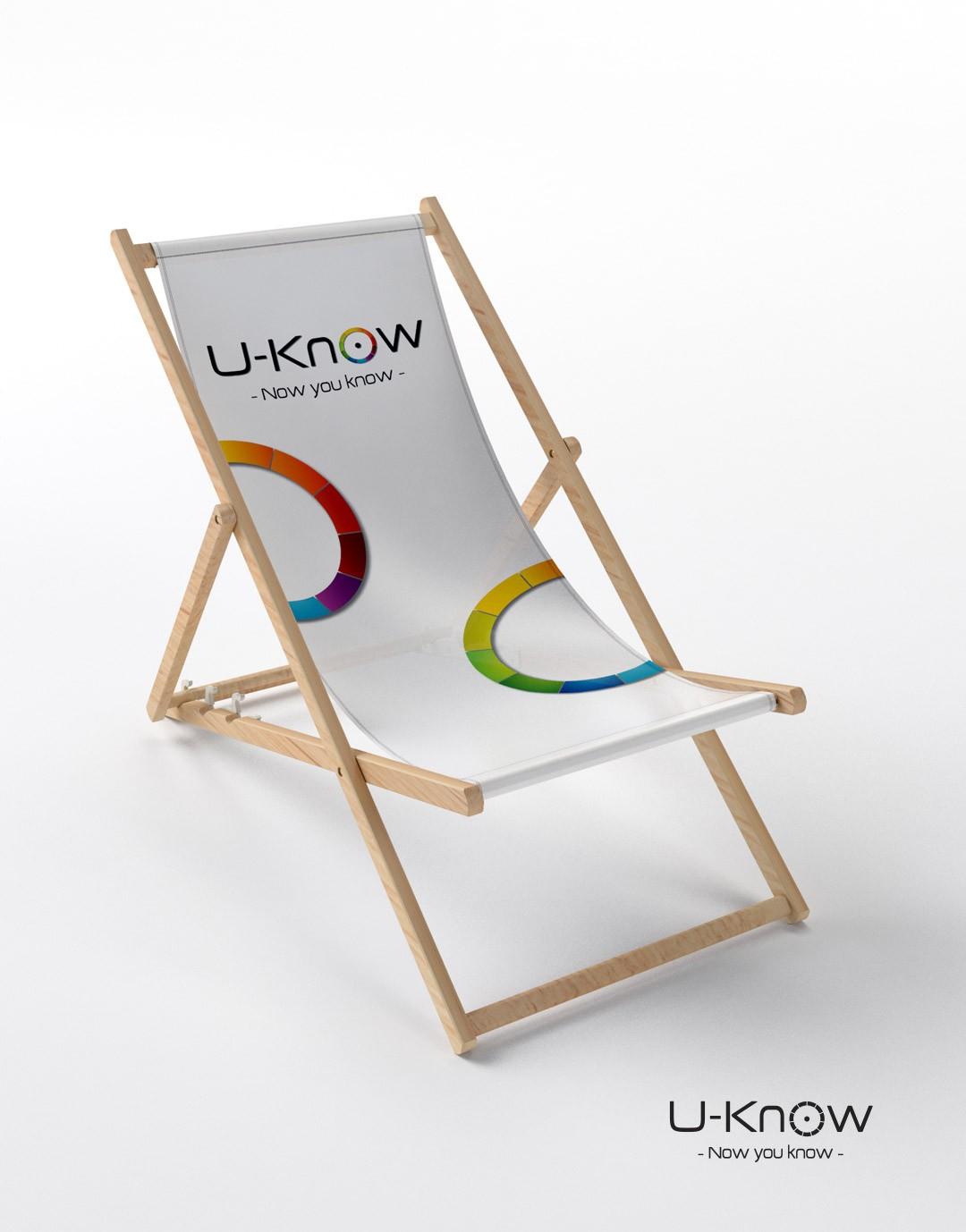 Chaise longue en bois à personnaliser