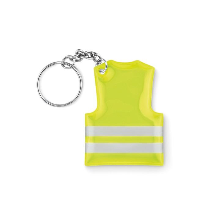 Porte-clés gilet de sécurité