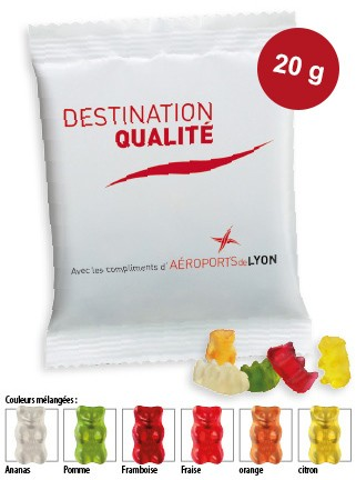 Mini oursons d'Or HARIBO 20 gr