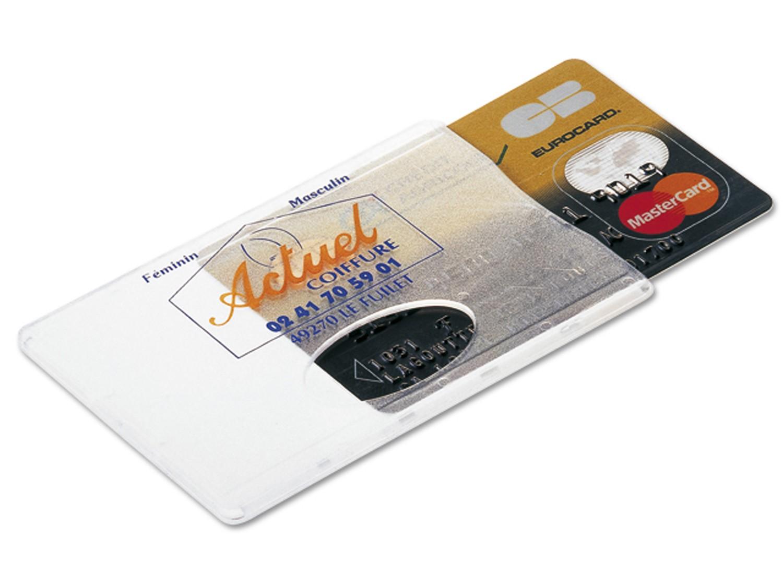 Protège-Cartes de Crédit Transparent