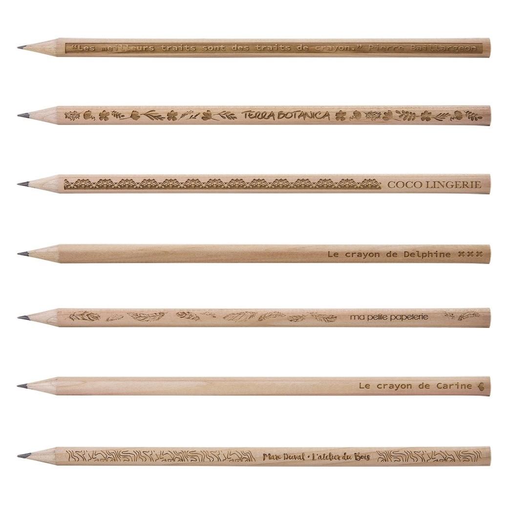 Crayon Bois Prestige Naturel Sans Vernis