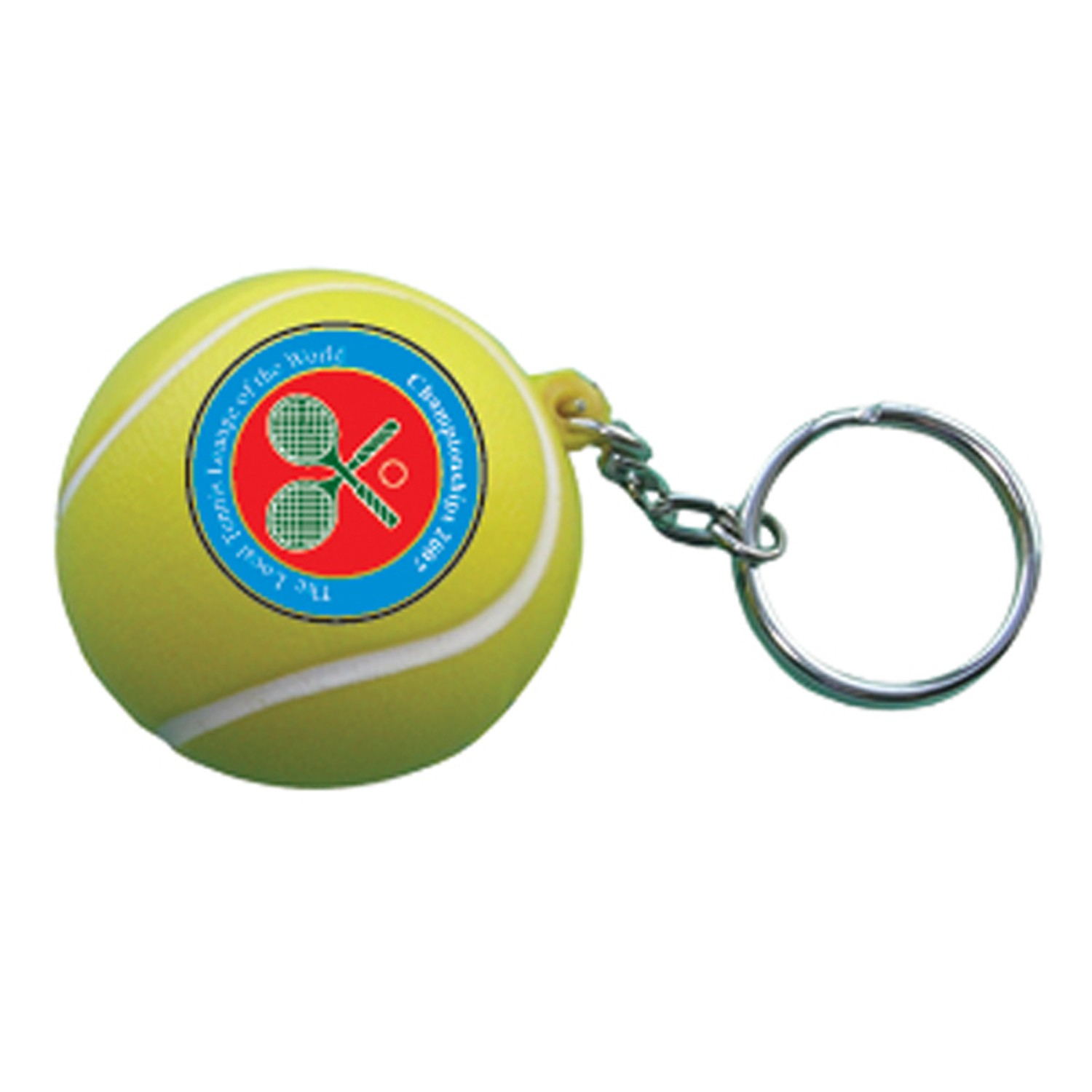 Anti-Stress Porte-Clé Balle de Tennis