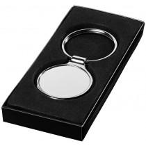 Porte clés rond poli