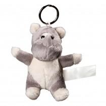 Porte clés peluche rhinocéros