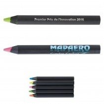 Mini Crayon Bois Prestige Black Mine Fluo