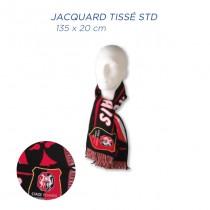 Echarpe supporter jacquard tissé Standard