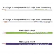 Crayon Bois Eco avec Vernis Couleur