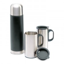 Bouteille Thermos avec 2 Tasses – 693 ml