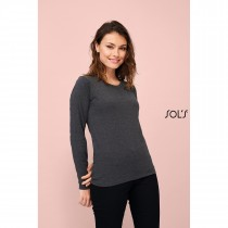 Tee-Shirt Femme Manches Longues SOL'S IMPERIAL LSL WOMEN