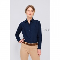 Chemise Femme Popeline Manches Longues Sol's Executive