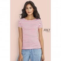 Tee-Shirt Marin Femme Sol's Miles