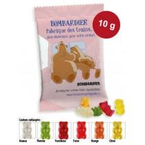 Mini oursons d'Or HARIBO 10 gr