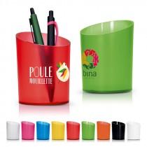 Pot a crayons plastique
