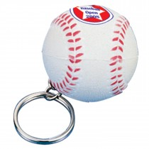 Anti-stress Porte-clé balle de base-ball