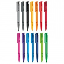 Stylo SENATOR Super Hit Clear Soft Grip