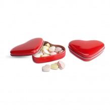 Boîte coeur avec bonbons