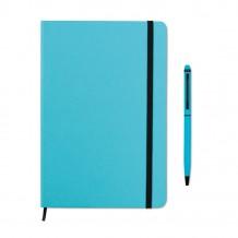 Carnet A5 et stylo assorti