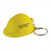 Anti-stress Porte-clé casque de chantier