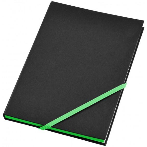 Bloc-notes Travers, Couleur : Vert, Taille : A5