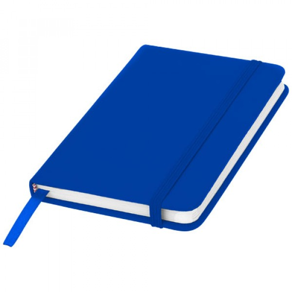 Carnet de notes A5 Spectrum- pages blanches, Couleur : Bleu Royal