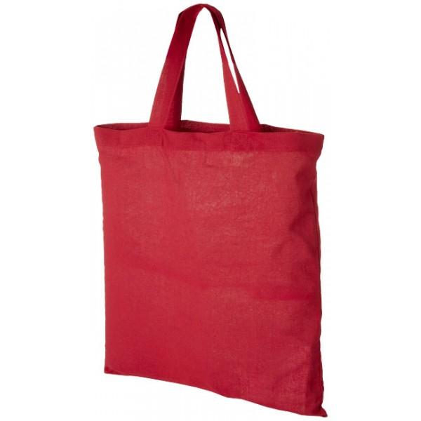 Sac coton Virginia, Couleur : Rouge