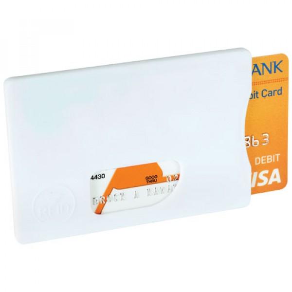 Porte-cartes de crédit RFID, Couleur : Blanc