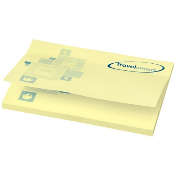 Post-its Sticky-Mate® 100 x 75 jaune clair 100 pages, Couleur : Jaune, Taille : 100 feuilles