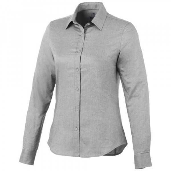 Chemise manches longues Femme Vaillants, Couleur : Steel Grey, Taille : XS