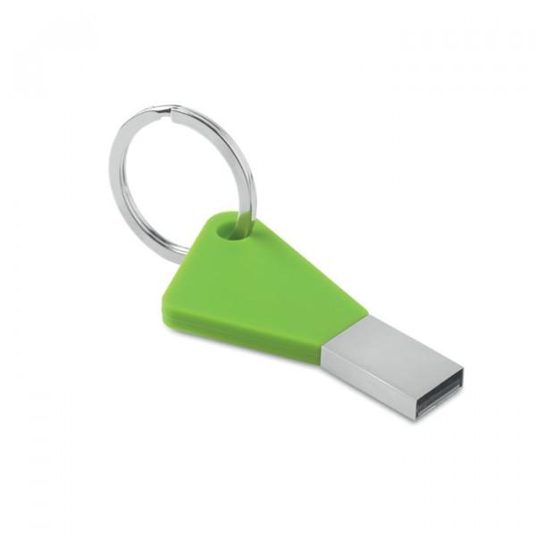 Colourflash key, Couleur : Vert Citron, Capacité des clés USB : 32 Go