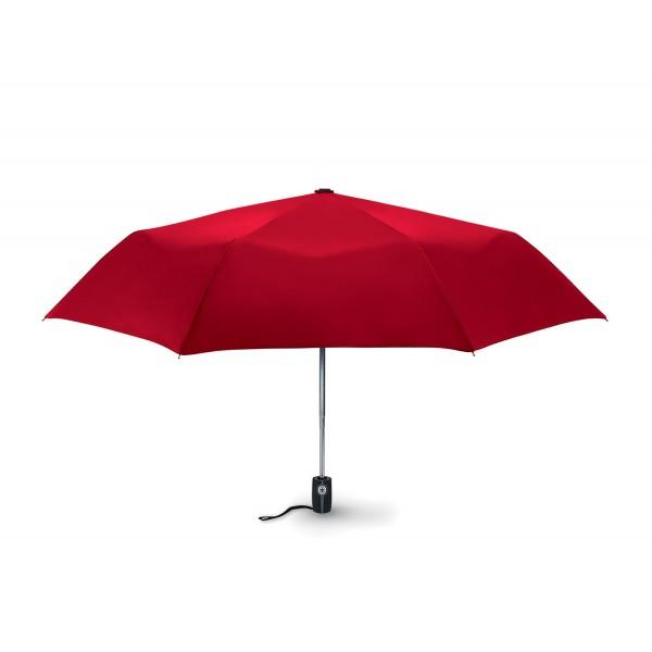 Parapluie tempête automatique , Couleur : Rouge