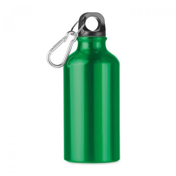 Bouteille aluminium 400 ml, Couleur : Vert